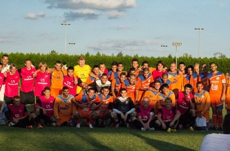 Friendly match MSM - FC Maccabi, August 2012