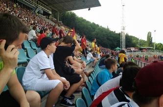 Футбольный матч ФК Спарта Прага - ФК Дукла Прага, Июль 2012