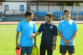 MSM Football Training, August 2012