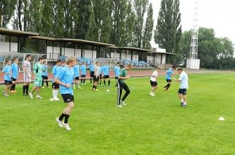Футбольная тренировка МСМ, Июль 2012