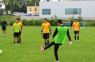 MSM Football Training, August 27th, 2013