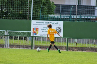 Friendly match MSM - FC Admira Prague U-16, July 2014