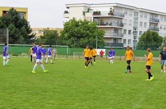 Friendly match MSM - FC Admira Prague U-17, July 2014
