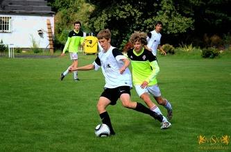 Friendly match MSM - FC Victoria Zizkov U-17, August 2014