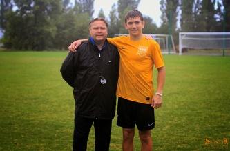 MSM football training, August 2014