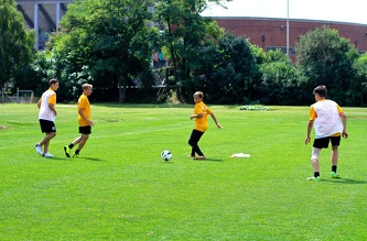 MSM football training, July 2014