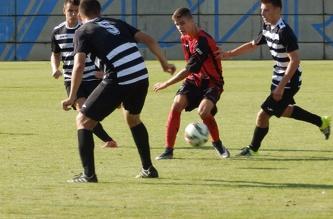 4-й тур ФК Адмира Прага U-19 - ФК Хрудим U-19