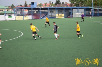 Friendly match MSM - FC Admira Prague U-19, July 2015
