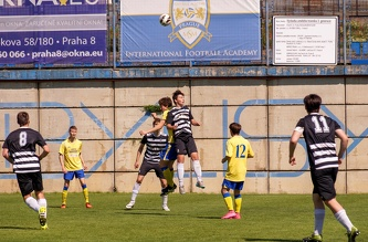 Football Season 15-16 FC Admira Prague U-19 - FC Beneshov U-19