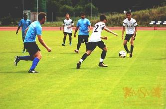 Товарищеский матч МСМ A - МСМ B. Июль 2016