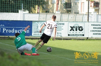 Friendly match MSM - FC Loko Vltavin U-19, August 2016