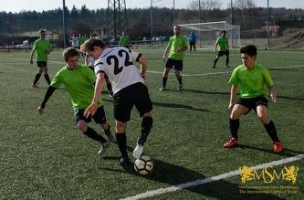 Season 2017/2018. Matchweek 13. MSM - ST FJFI ČVUT