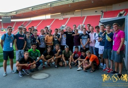 24.07.18 Excursion at the stadium of FC