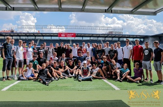 13.07.18 Excursion at the stadium of FC